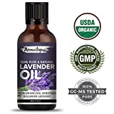 #4: Lavender Essential Oil For Skin Care and Hair Growth 100% Pure and Natural Therapeutic Grade from Aromatique (USDA Certified Organic) (15)