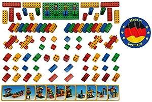 Theo Klein-656 Manetico set 84 piezas, bloques de construcción magnéticos, edad 1+, juguete, multicolor, 85 unidades (656)