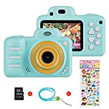 Vannico Kinder Digital Mini Kamera, Selfie Photo Kids Camera HD Kinderkamera 8 Megapixel, Wiederaufladbar...