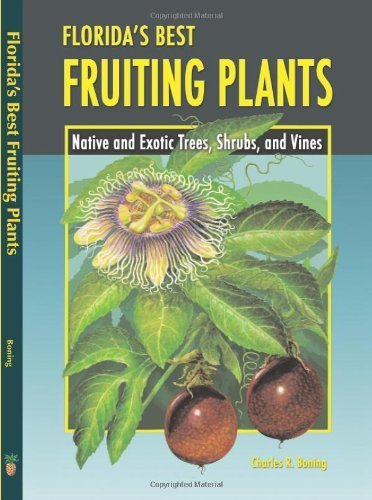 Florida's Best Fruiting Plants: Native and Exotic Trees, Shrubs, and Vines by Boning, Charles R (2006) Paperback