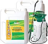 Ungeziefermittel Bioeffect 2x5Ltr+Drucksprüher