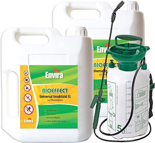 Ungeziefermittel Bioeffect 2x5Ltr+Drucksprüher -