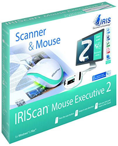 IRIScan Mouse Executive 2 WiFi ,Souris-scanner Tout-En-Un