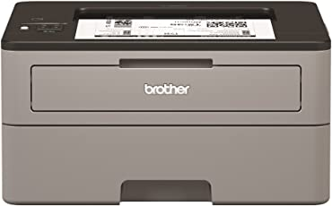 Brother HL-L2350DW Kompakter S/W-Laserdrucker (A4, echte 1.200x1.200 dpi, Duplexdruck, 250 Blatt Papierkassette, USB 2.0, WLAN)