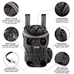 Petmars Pet Backpack Carrier: Dog And Cat Carrying Bag, Front And Back Facing, For Small Medium And Large Sized Breeds… 10