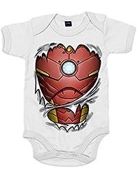 Body bebé Iron Man cuerpo