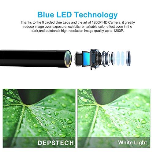 Endoscopio-Inalmbrico-Depstech-Wireless-WiFi-Digital-Boroscopio-Endoscopio-Camara-de-Inspeccion-de-20-Megapixeles-CMOS-HD-Camara-de-la-Serpiente-6-LED-para-Andorid-y-IOS-Smartphone-iPhone-7-7-Plus-6s6
