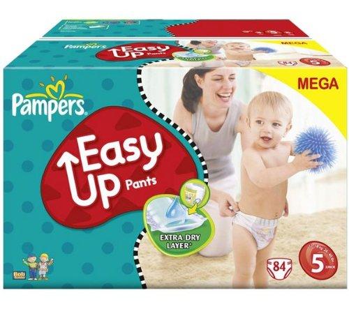 Preisvergleich Produktbild Pampers Training Pants Pull Easy Up Größe 5junior (12–18kg)–Megapack 1x 84Windeln 81143236