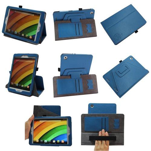 Coodio® Smart Acer Iconia A1-830 Tablet 360 rotante custodia in pelle con supporto verticale integrata presa della mano -