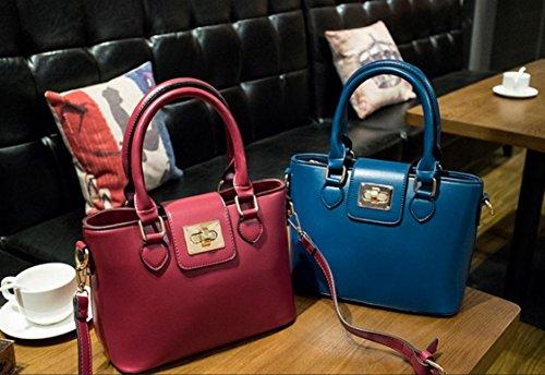 X&L Frauen's einfach stilvoll Mobile Tasche Tasche Schulter Umhängetasche treasure blue
