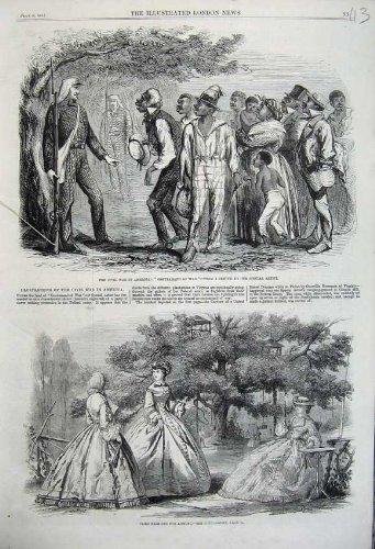 1861 (Bürgerkrieg Kleid)
