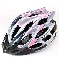 MAXTK Casco de Bicicleta de montaña para Hombre y Mujer, Casco de Ciclismo, Deportes al Aire Libre, Casco de Seguridad, Rosa