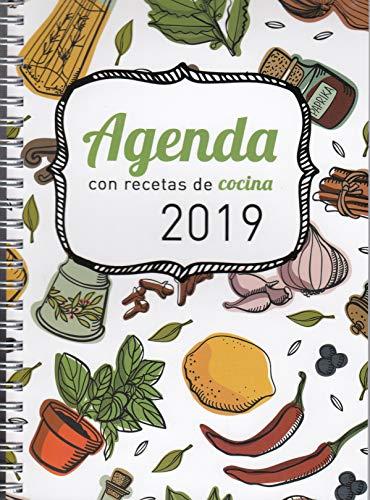 Agenda 2019 con recetas de cocina por Ediciones Mensajero