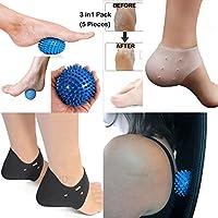SDA DIRECT (3in 1Pack) pedimend Medical Silikon Plantarfasziitis & Ferse Relief Pflege Massage Ball Pack–Plantar... preisvergleich bei billige-tabletten.eu