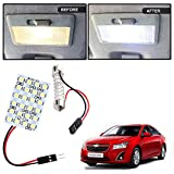 #7: Vheelocityin 24 SMD Dome Light 24 LED Car Roof Light with Spring Adjustable Bracket for Chevrolet Cruze