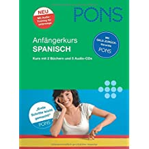 PONS Anfängerkurs Spanisch: Sprachkurs: 2 Bücher mit 5 Audio-CDs