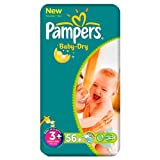 Pampers Baby Dry Größe 3 + Economy Pack 6 x 56 pro Packung