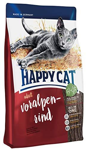 Happy Cat Katzenfutter 70040 Adult Voralpen-Rind 10 -