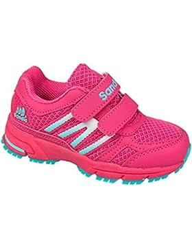 GIBRA® Kinder Sportschuhe, mit Klettverschluss, pink, Gr. 25 - 35