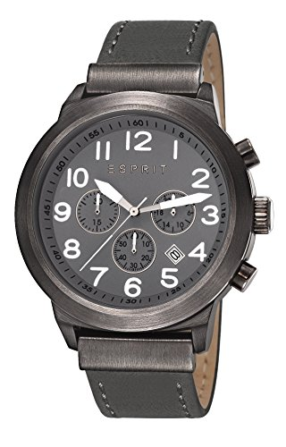esprit-baxter-mens-quartz-watch-with-grey-dial-chronograph-display-and-grey-leather-strap-es10804100