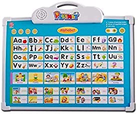 RVold Musical Board for Alphabet ABC Learning Toy Play Mat & Drawing with One Doodle Pen (Multicolour)