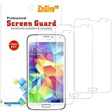 3 x EnGive Ultra Clear Display Displayschutzfolie Schutzfolie Displayschutz Folie für Samsung Galaxy S5 (3 Stück)