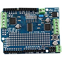 Motor Azul Durable liviano/Stepper / Servo/Robot Shield para Arduino v2 con PWM Driver Shield 68 x 52 x 20 mm