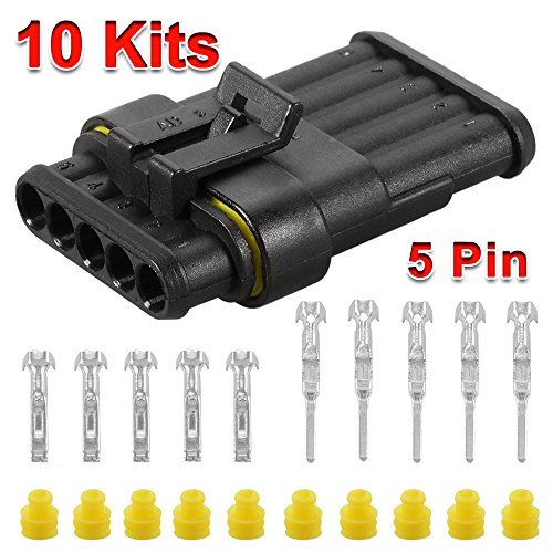 xcsource-10-sets-5-pin-way-superseal-waterproof-electrical-wire-cable-connector-plug-for-car-bike-bo