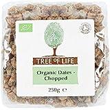 Árbol De La Vida Orgánica Dátiles Picados 250 G - Paquete de 6