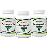 Vitagreen Ashwagandha (General Wellness) 60 Capsules, 100% Pure And Natural, Pack Of 3