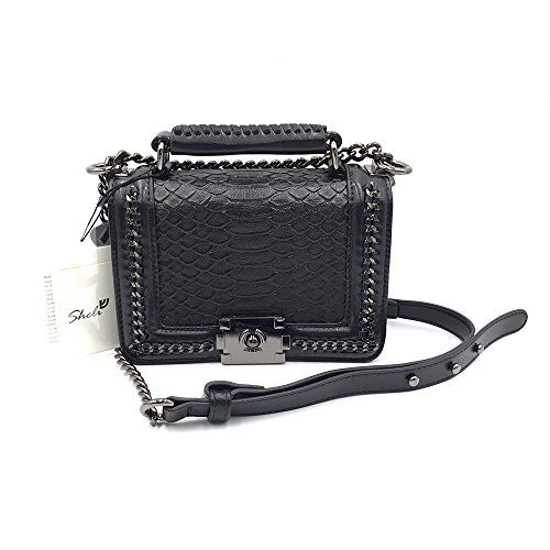 sheli-classic-black-mini-small-quilted-leather-bronze-chain-handbag-shoulder-bag-purse