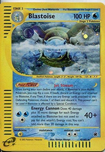 Pokemon Expedition Holofoil 165. Blastoise/4 #