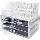 Nice Style Make up Cosmetic Organiser Clear Plastic Display and Storage Unit