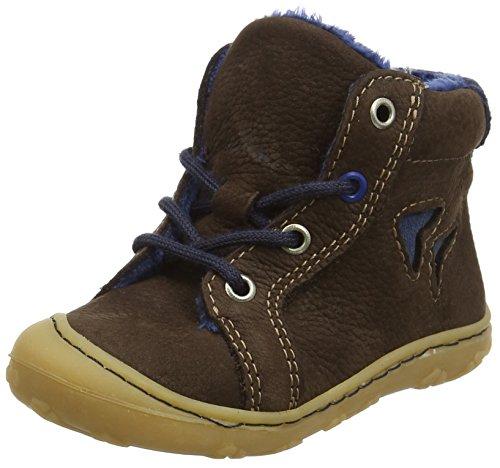Ricosta Unisex Baby Georgie High Top Sneakers, Braun (Marone), 21 EU