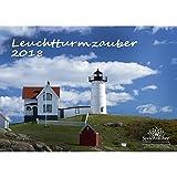 Premium Kalender 2018 · DIN A3 · Leuchtturmzauber · Leuchtturm · Meer · Schiff · Wellen · Edition Seelenzauber