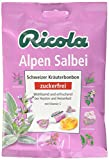 Ricola Alpen Salbei Schweizer Kräuterbonbon ohne Zucker, 75 g