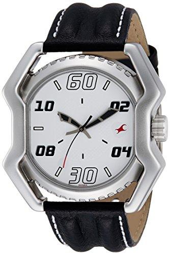 Fastrack Analog White Dial Men's Watch - 3112SL01 image