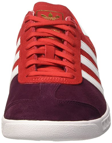 Adidas Hamburg, Chaussures De Tennis Multicolores Pour Homme (maroon / Ftwwht / Maroon)