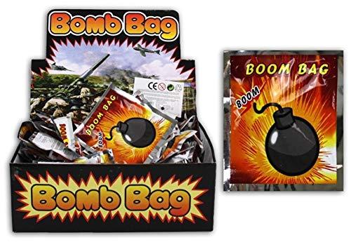 newalds-wunderwelt 30 x Bomb Bag Knallkissen Knallbombe Knalltüte Bombenkissen Scherzartikel Kindergeburtstag Mitgabe -