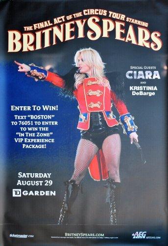 Britney Spears Circus Foto-Nachdruck eines Konzertposters 40x30cm -