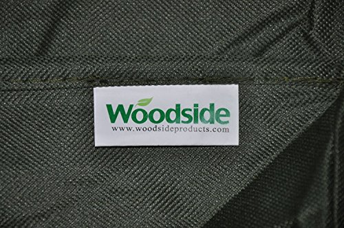 Woodside Heavy Duty Waterproof Rattan Cube Outdoor Garden Furniture Rain Cover, Green, Heavy Duty 600D Material, 5 YEAR…