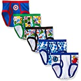 Marvel Big Boys' Avengers 5pk Underwear