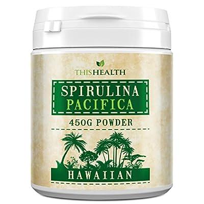 Spirulina powder - 460g Hawaiian Spirulina Pacifica Powder by This health