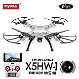 WayIn® Syma X5HW 2.4G 4CH 6-Asse Giroscopio RC Wifi FPV Quadricottero Drone con Fotocamera RTF (Versione aggiornata di X5SW)