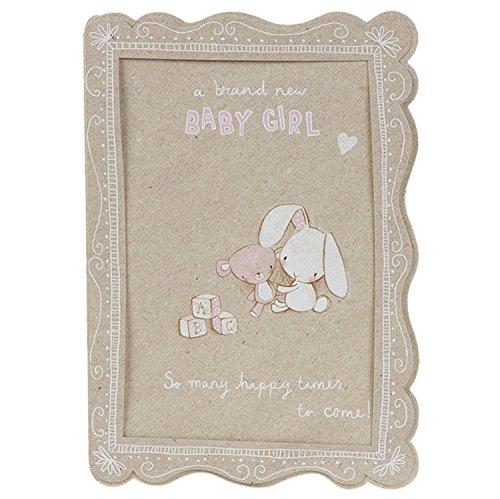 Hallmark New Baby Karte für Girl viele Happy Zeiten zu kommen–Medium (Ornament Zeit Hallmark)