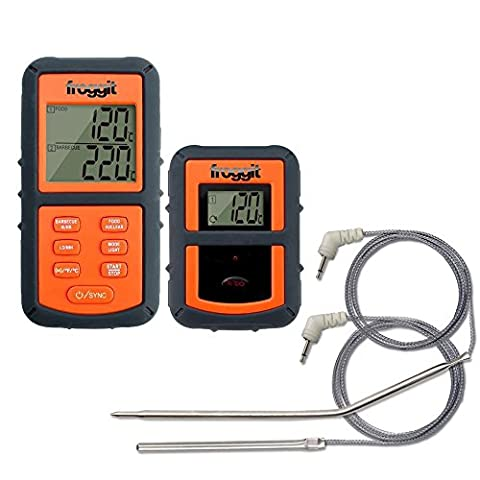 Funk Grillthermometer SmokeMax PRO Professional BBQ Grill 2 Fühler Two Probes Smokerthermometer