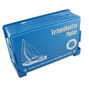 NAUTIC-SAFETY Erste-Hilfe-Kasten gefüllt
