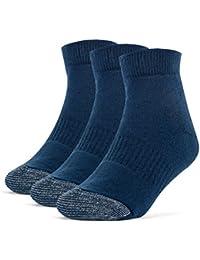 Galiva Calcetines acolchados tobilleros extra suaves de algodón para niño - 3 pares