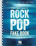 The Ultimate Rock Pop Fake Book Bk
