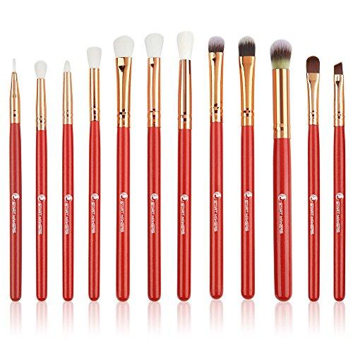Make up Pinsel START MAKERS 12 Stücke Stiftung Augen Pinsel Sets Lidschatten Augenbraue Pinsel Pulver Flüssige Creme Blending Make-Up-Tool...